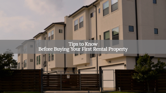 buying your first rental property