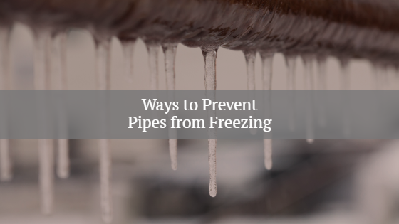prevent freezing pipes